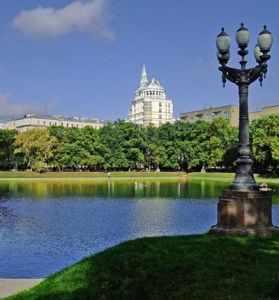 Романтические места Москвы
