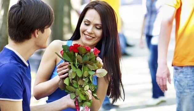 Какие цветы дарить на первом свидании