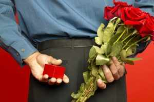 розы подарок