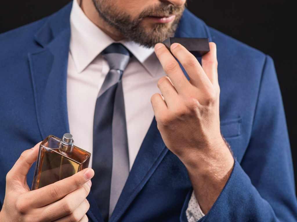 вкусный аромат мужчины