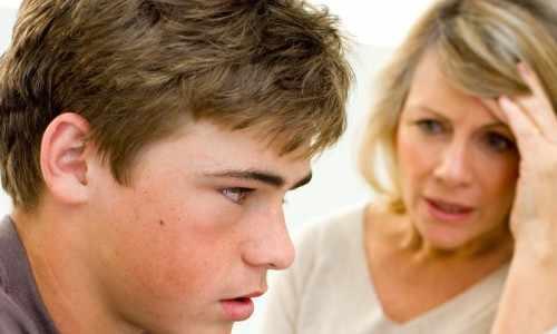 Отношения между сыном и мамой