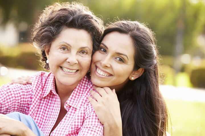 Гармоничное общение с мамой