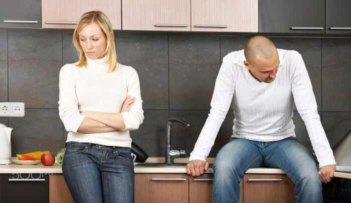 Жена обвиняет мужа