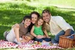 Пикник с родителями