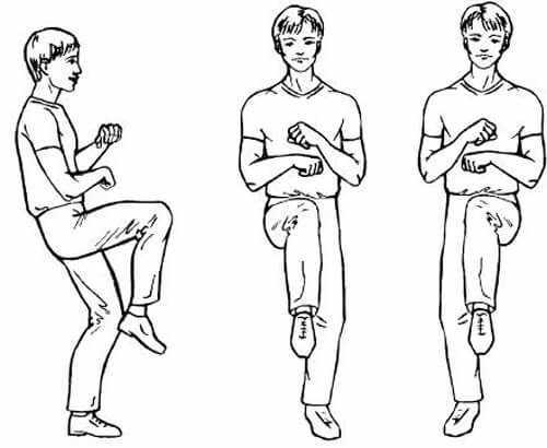 Упражнение Рок-н-ролл