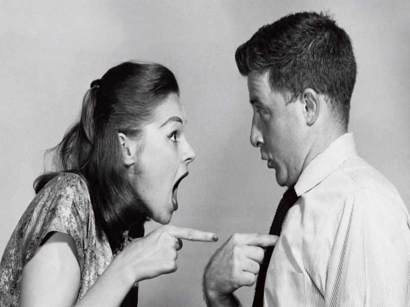 между мужчиной и женщиной