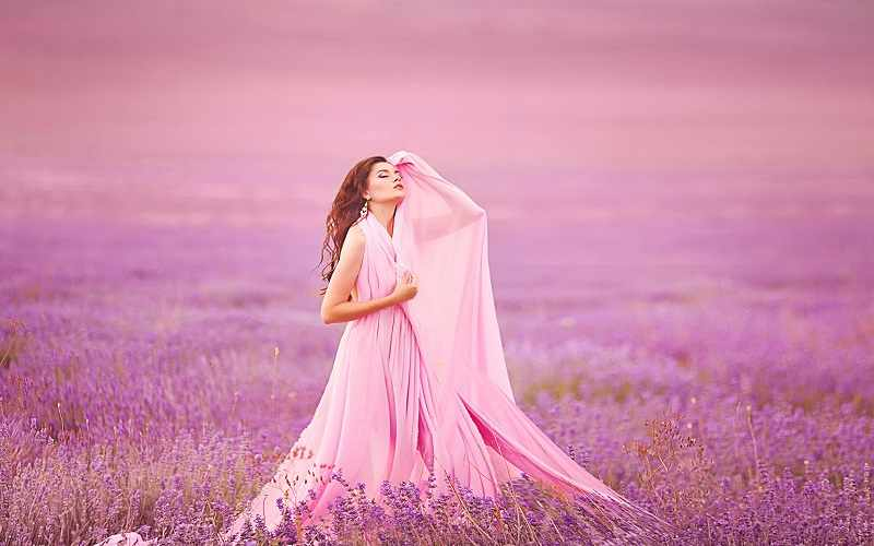 розовый цвет психология