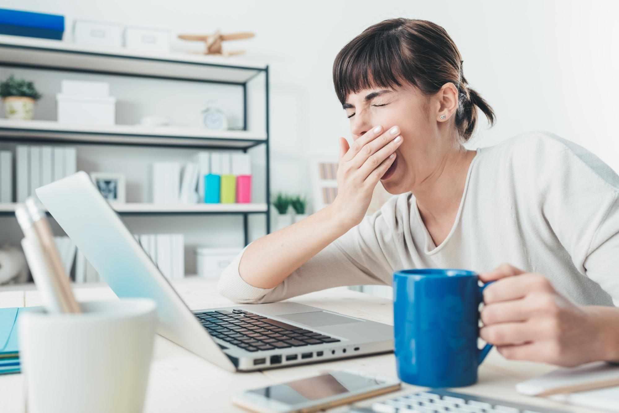 Причины снижение работоспособности