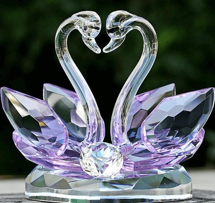 Идеи стеклянных подарков