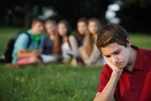 Подросток-социофоб