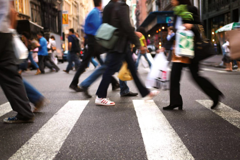 Городской темп жизни