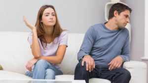 Игнорировать после ссоры