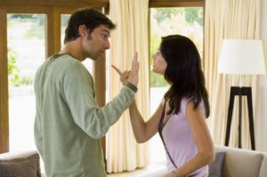 Ссора с парнем