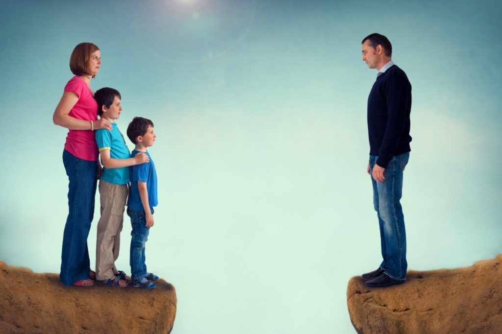 Развод в семье с детьми