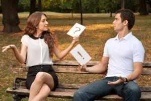 Недомолвки между влюбленными