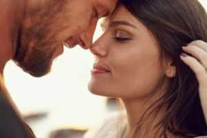 Влюбленный взгляд мужчины