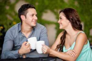 Пить кофе с любимым