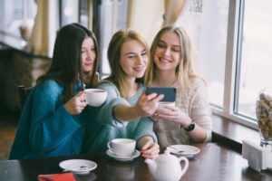 Встреча с подругами