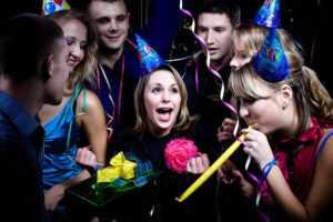 Вечеринка на день рождения