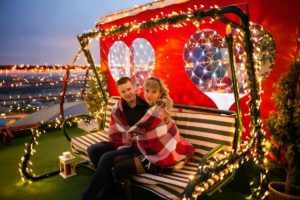 Романтическое свидание на ярмарке