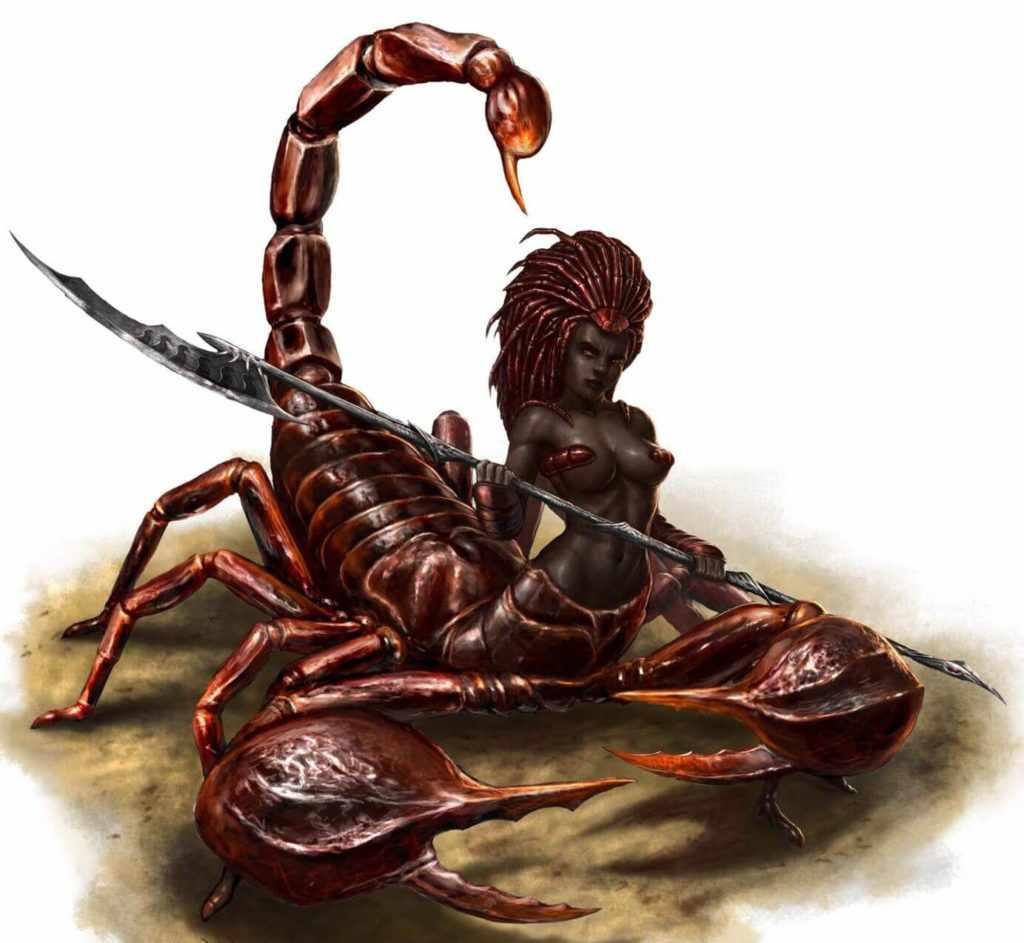 Женщина-Скорпион