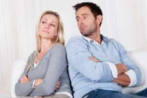 Напряженные отношения внутри семьи